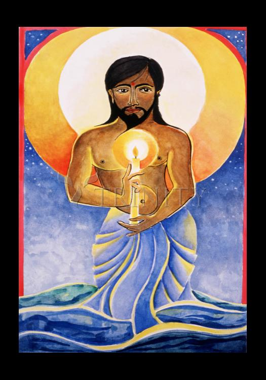 Holy Card - Jesus: Light of the World by M. McGrath
