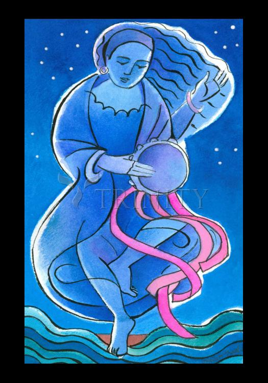 Holy Card - St. Miriam Dancing in Darkness by M. McGrath