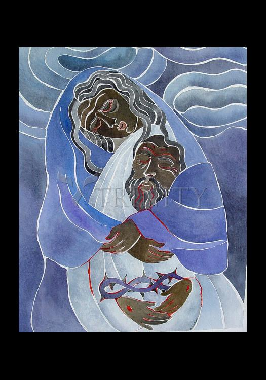 Holy Card - Mary, Mother of Sorrows by M. McGrath