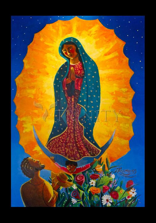 Holy Card - Our Lady of Guadalupe by M. McGrath