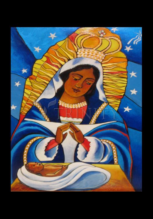 Holy Card - Our Lady of Altagracia by M. McGrath