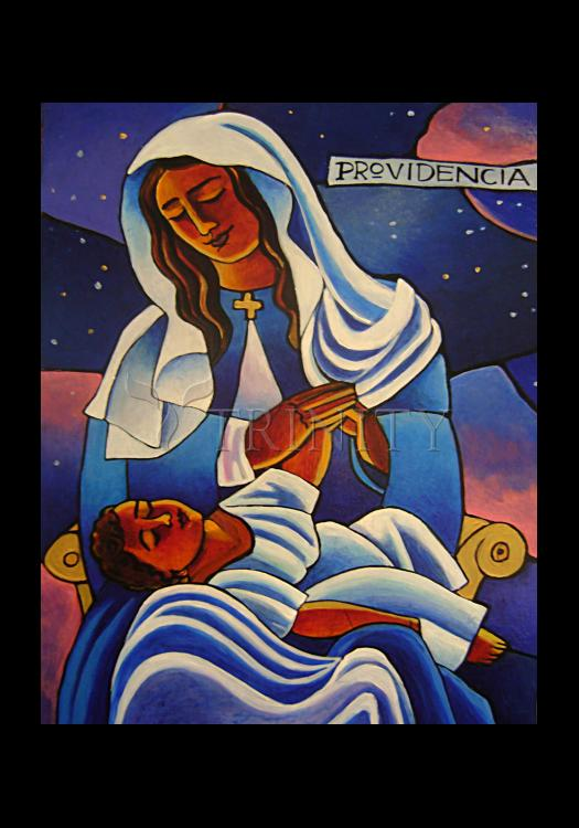 Holy Card - Our Lady of the Divine Providence by M. McGrath
