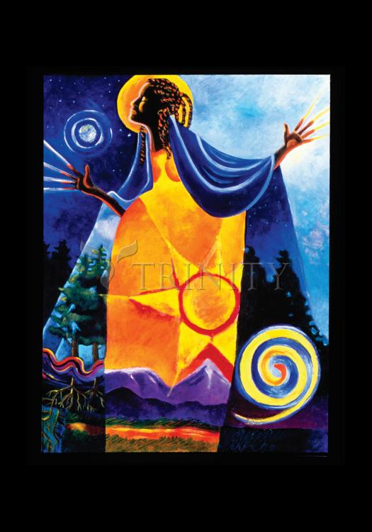 Holy Card - Queen of Heaven, Mother of Earth by M. McGrath