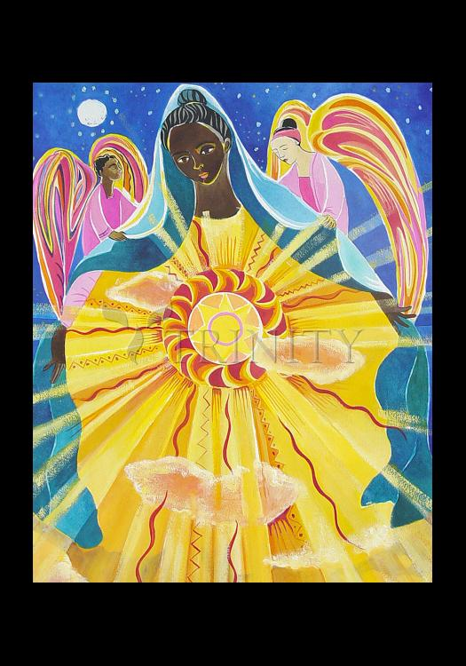 Holy Card - Mary, Queen of the Universe by M. McGrath