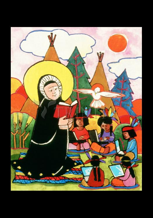 Holy Card - St. Rose Duchesne by M. McGrath