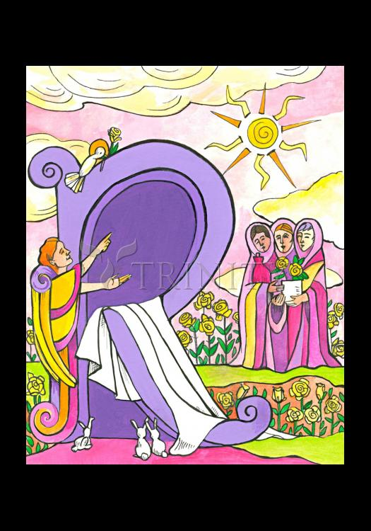 Holy Card - Resurrection by M. McGrath