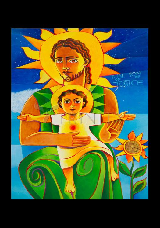 Holy Card - Son of Justice by M. McGrath