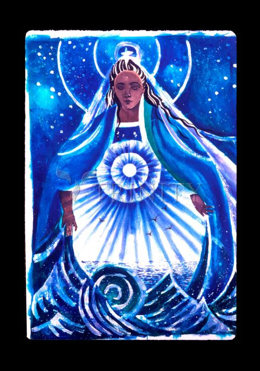 Holy Card - Mary, Star of the Sea by M. McGrath