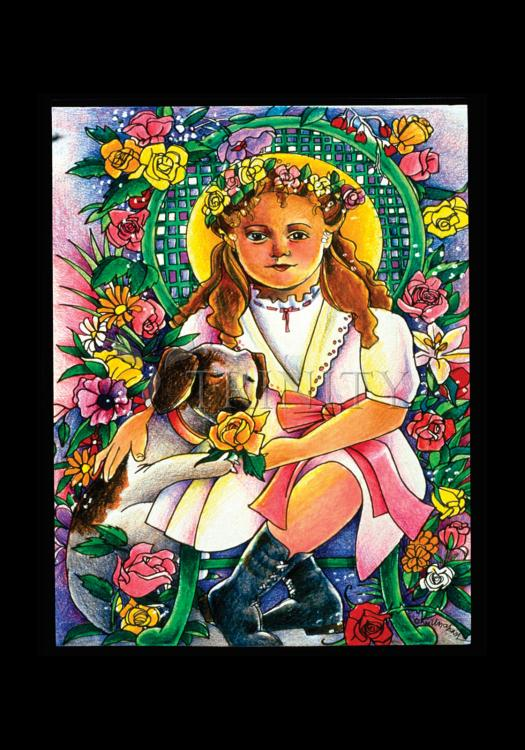 Holy Card - St. Thérèse, the Little Doctor by M. McGrath