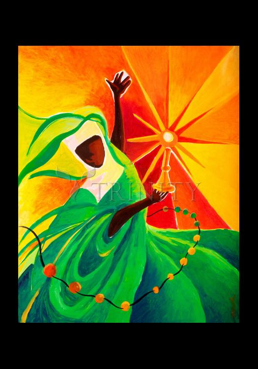 Holy Card - Sr. Thea Bowman: This Little Light Of Mine by M. McGrath