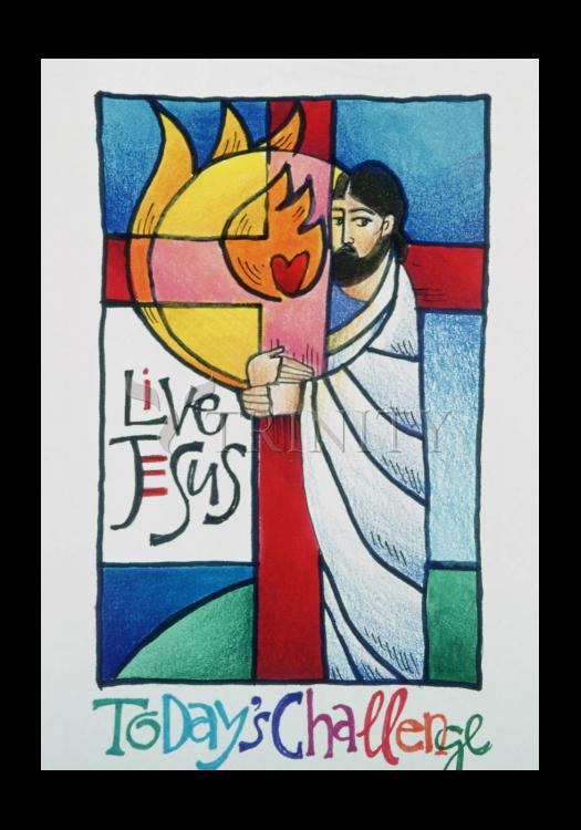Holy Card - Today's Challenge by M. McGrath