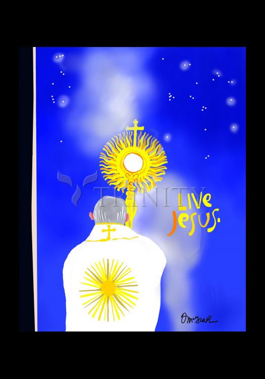Holy Card - Urbi et Orbi (To the city, Rome, and to the World) by M. McGrath