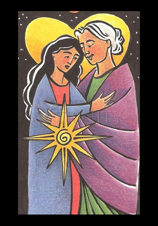 Holy Card - Visitation - Night by M. McGrath