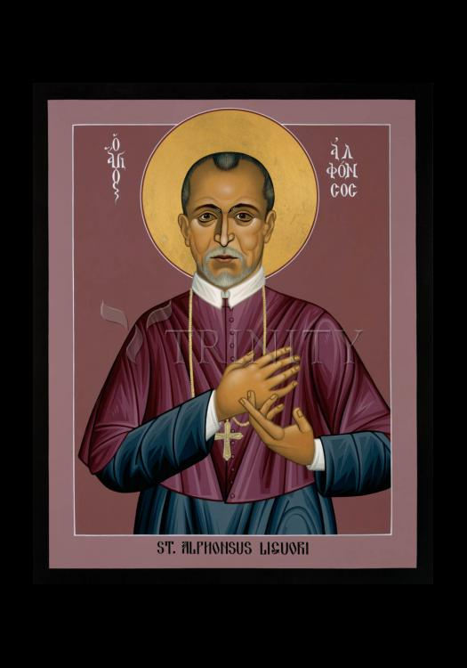 Holy Card - St. Alphonsus Liguori by R. Lentz