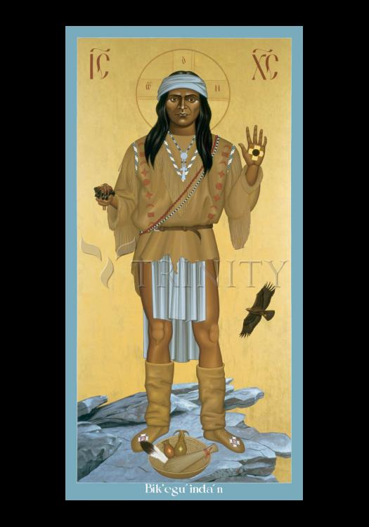 Holy Card - Apache Christ by R. Lentz