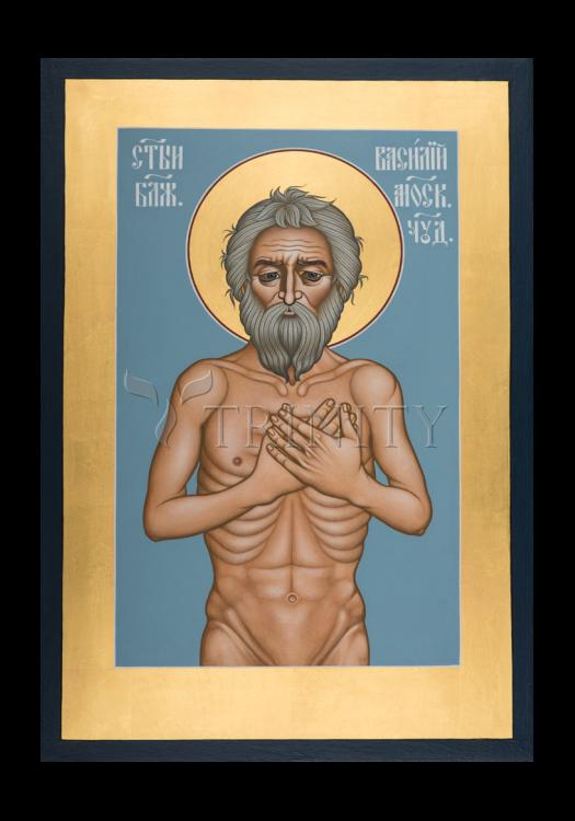 Holy Card - St. Basil the Blessed of Moscow by R. Lentz