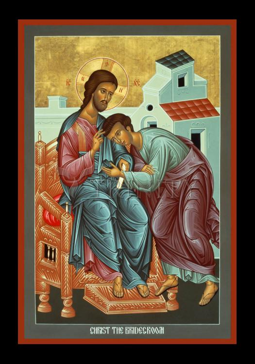 Holy Card - Christ the Bridegroom by R. Lentz