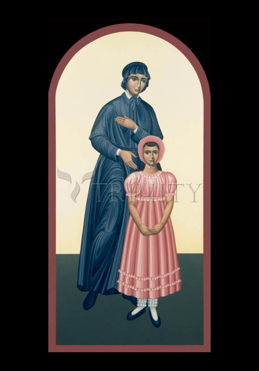 Holy Card - St. Elizabeth Seton by R. Lentz