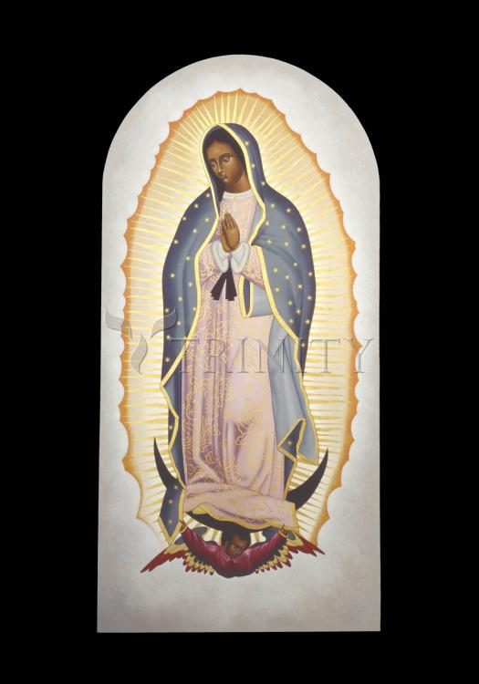 Holy Card - Our Lady of Guadalupe by R. Lentz