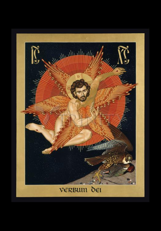 Holy Card - Seraphic Christ by R. Lentz