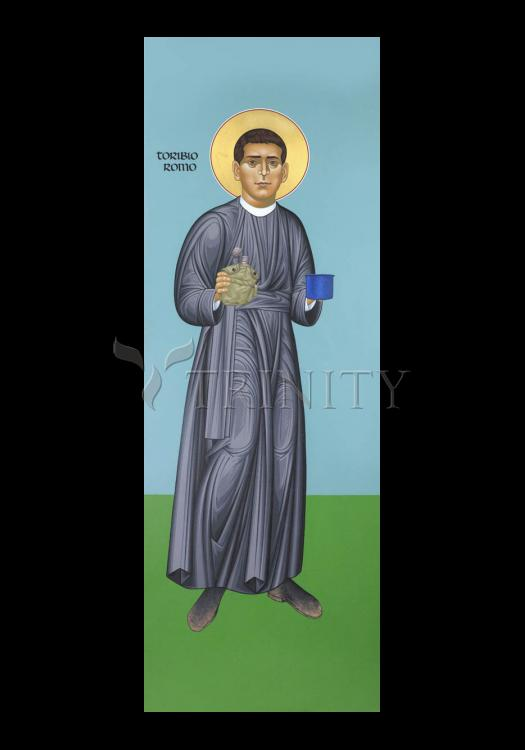 Holy Card - St. Toribio Romo by R. Lentz