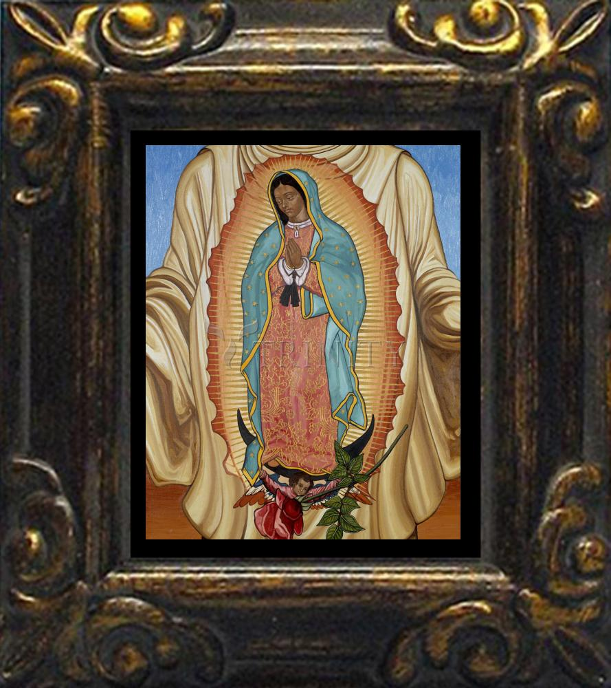 Mini Magnet Frame Our Lady Of Guadalupe By L Williams Trinity