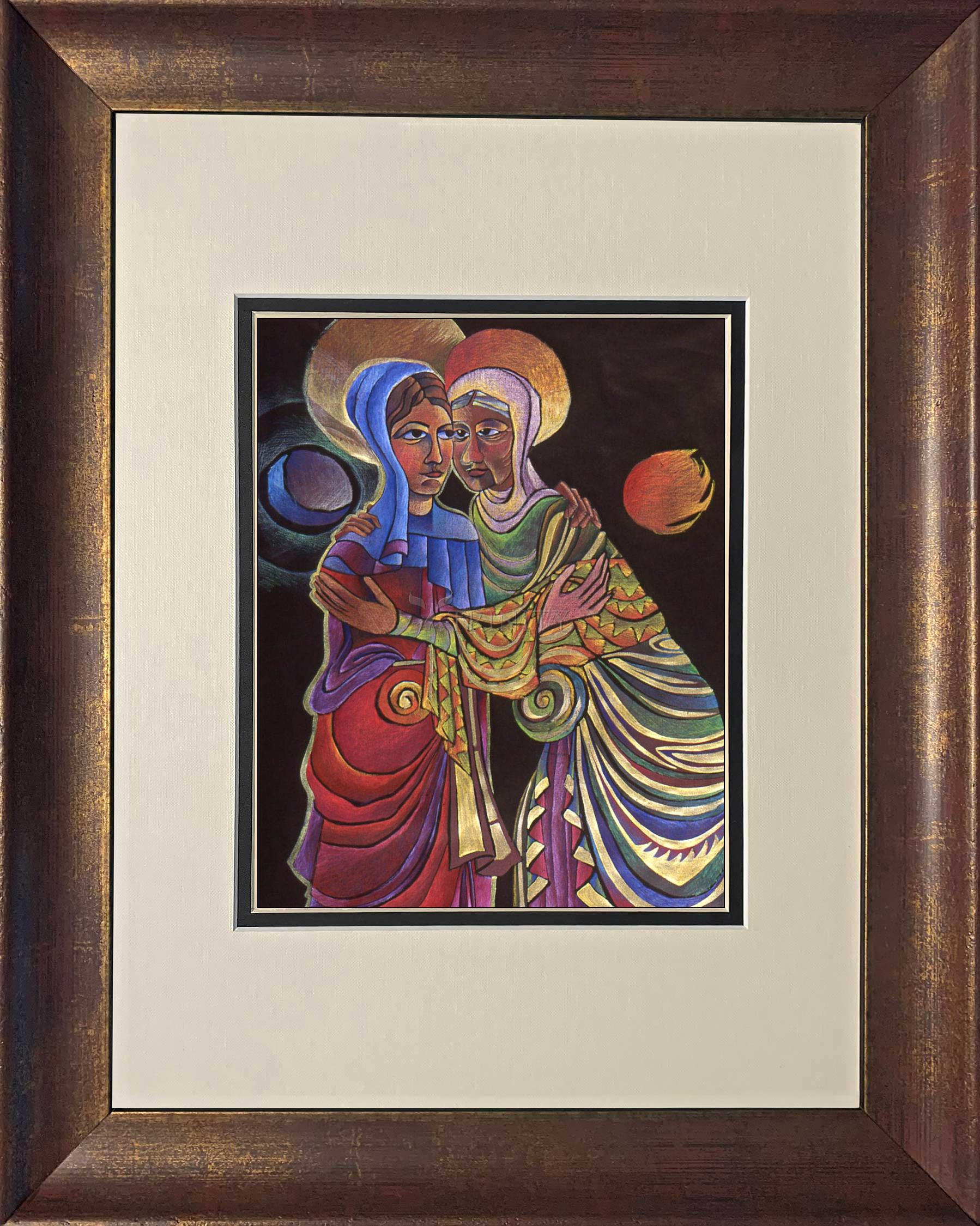 Wall Frame Visitation Sun And Moon By M Mcgrath Trinity Stores