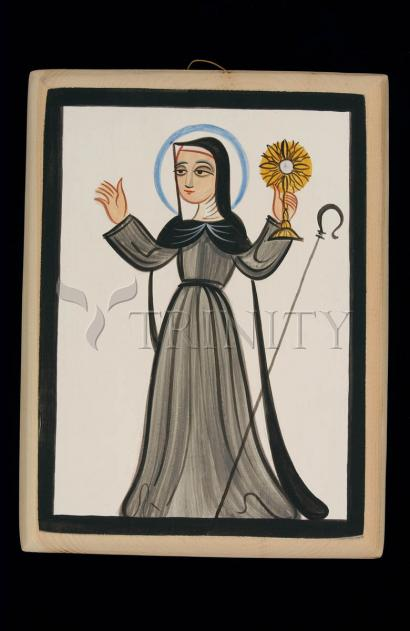 St. Clare of Assisi by Br. Arturo Olivas, OFS