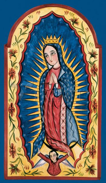 Our Lady of Guadalupe by Br. Arturo Olivas, OFS