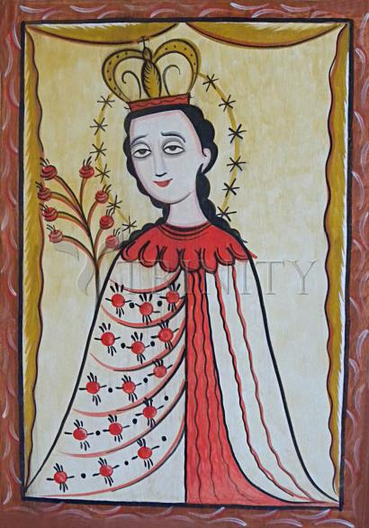 Our Lady of the Roses by Br. Arturo Olivas, OFS