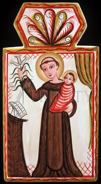 St. Anthony of Padua by Br. Arturo Olivas, OFS