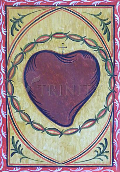 Sacred Heart by Br. Arturo Olivas, OFS