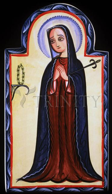 Mater Dolorosa - Mother of Sorrows by Br. Arturo Olivas, OFS