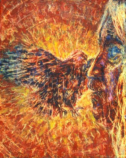 Eagle and Blind Elder by Fr. Bob Gilroy, SJ