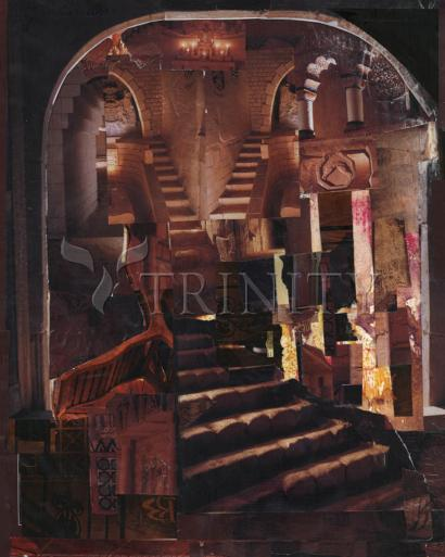 Split Staircase by Fr. Bob Gilroy, SJ