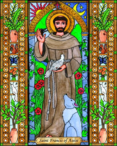 St. Francis of Assisi by Brenda Nippert