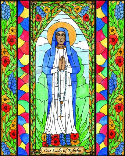 Our Lady of Kibeho by Brenda Nippert