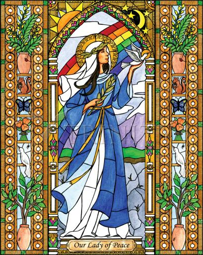 Our Lady of Peace by Brenda Nippert
