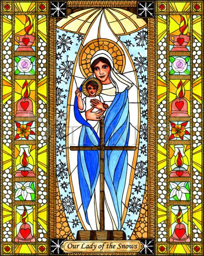Our Lady of the Snows by Brenda Nippert