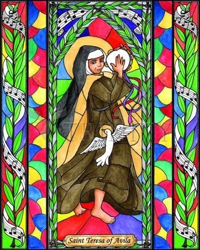 St. Teresa of Avila by Brenda Nippert