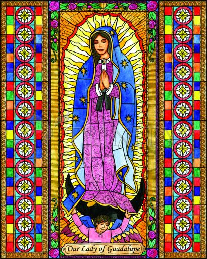 Our Lady of Guadalupe by Brenda Nippert