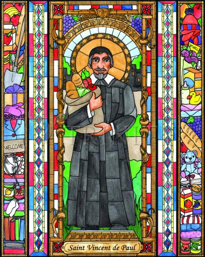 St. Vincent de Paul by Brenda Nippert