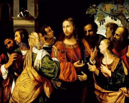 Christ and Women of Canaan - Museum Religious Art Classics