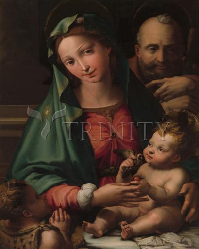 Holy Family with Infant St. John the Baptist - Museum Religious Art Classics