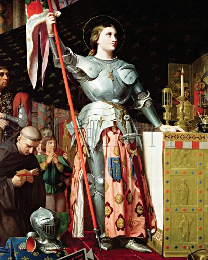 St. Joan of Arc at Coronation of Charles VII - Museum Religious Art Classics