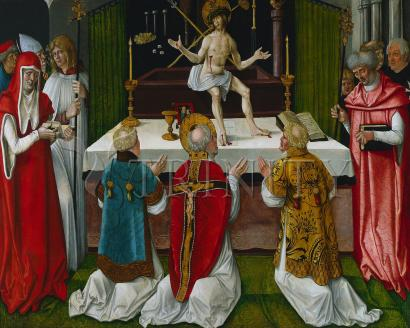 Mass of St. Gregory the Great - Museum Religious Art Classics