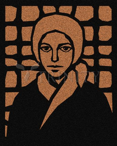 St. Bernadette of Lourdes - Cross by D. Paulos