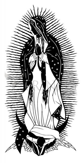 Our Lady of Guadalupe by Dan Paulos