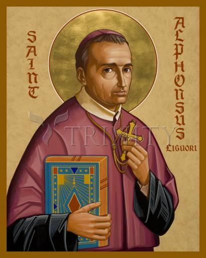 St. Alphonsus Liguori by Joan Cole