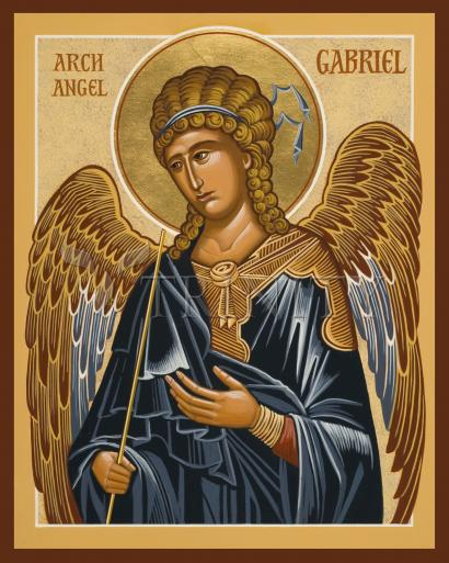 St. Gabriel Archangel by Joan Cole